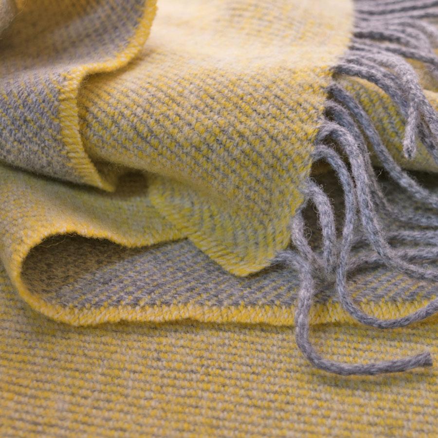 two-tone scarf winter sun