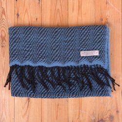 wave pattern shawl