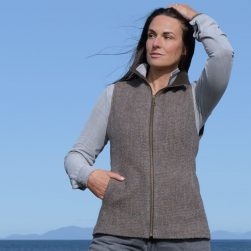 skye weavers women's gilet