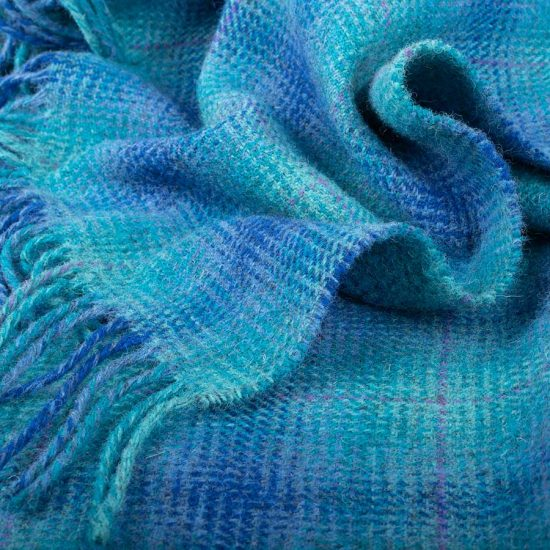 'Over the Sea' Wool Throw