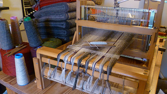 Skyeweavers Glendale - sample loom