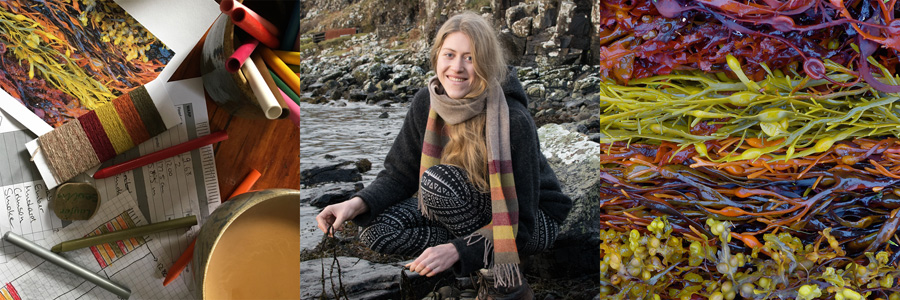 Striped seaweed scarf and inspiration