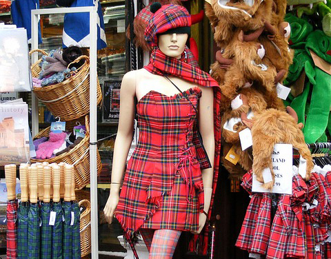 Tartanmania - Scotland's iconic fabric as a sourvenier