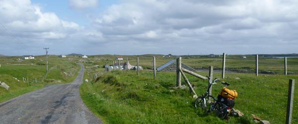 cycle ride to grimsay