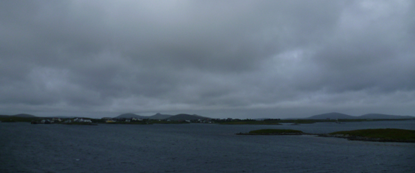 arrival at lochmaddy, north uist